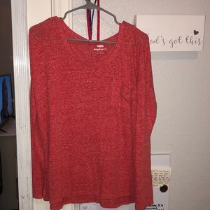 NEVER WORN! Cute old navy oversized long sleeve!